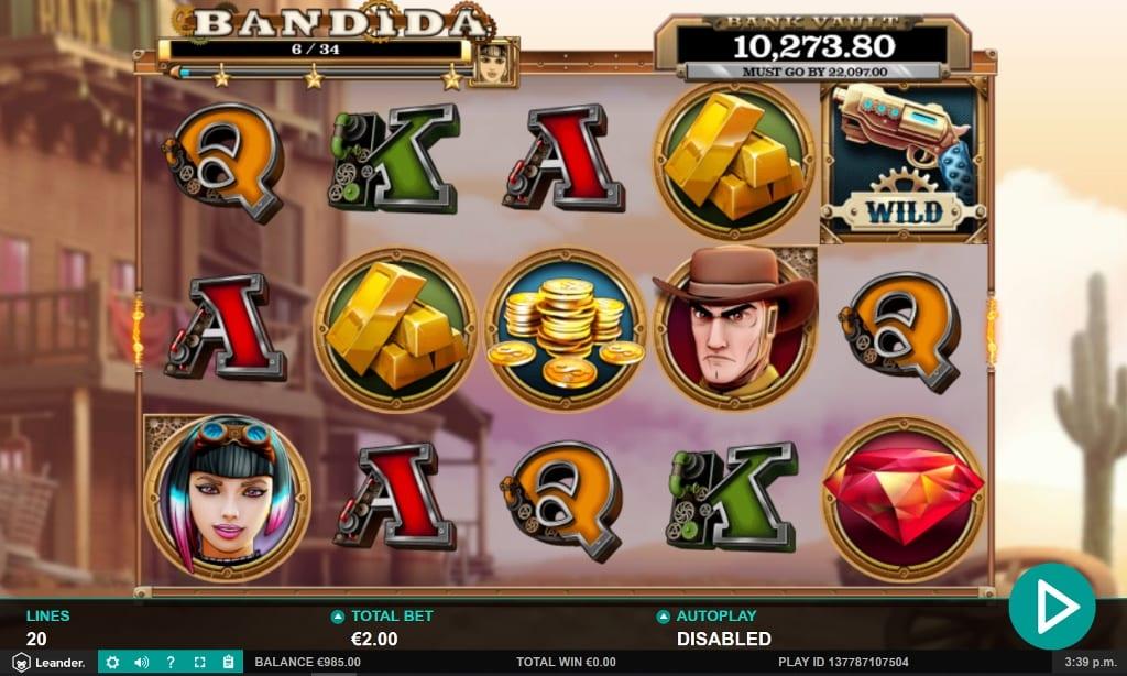 Bandida Slot Game