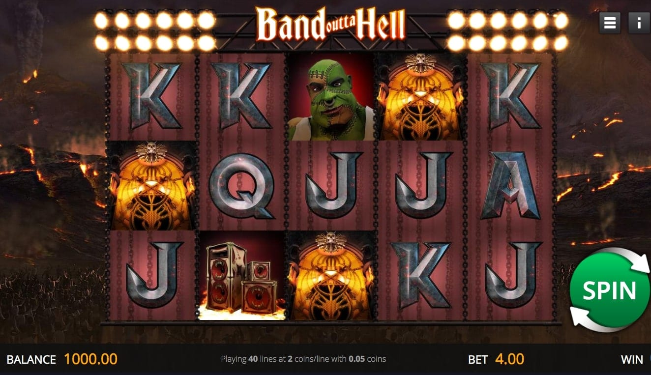 Band Outta Hell Slot Game