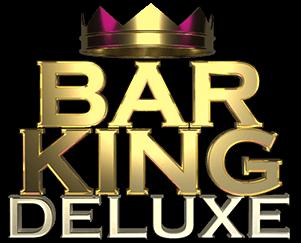 Bar King Deluxe Slot Logo Wizard Slots