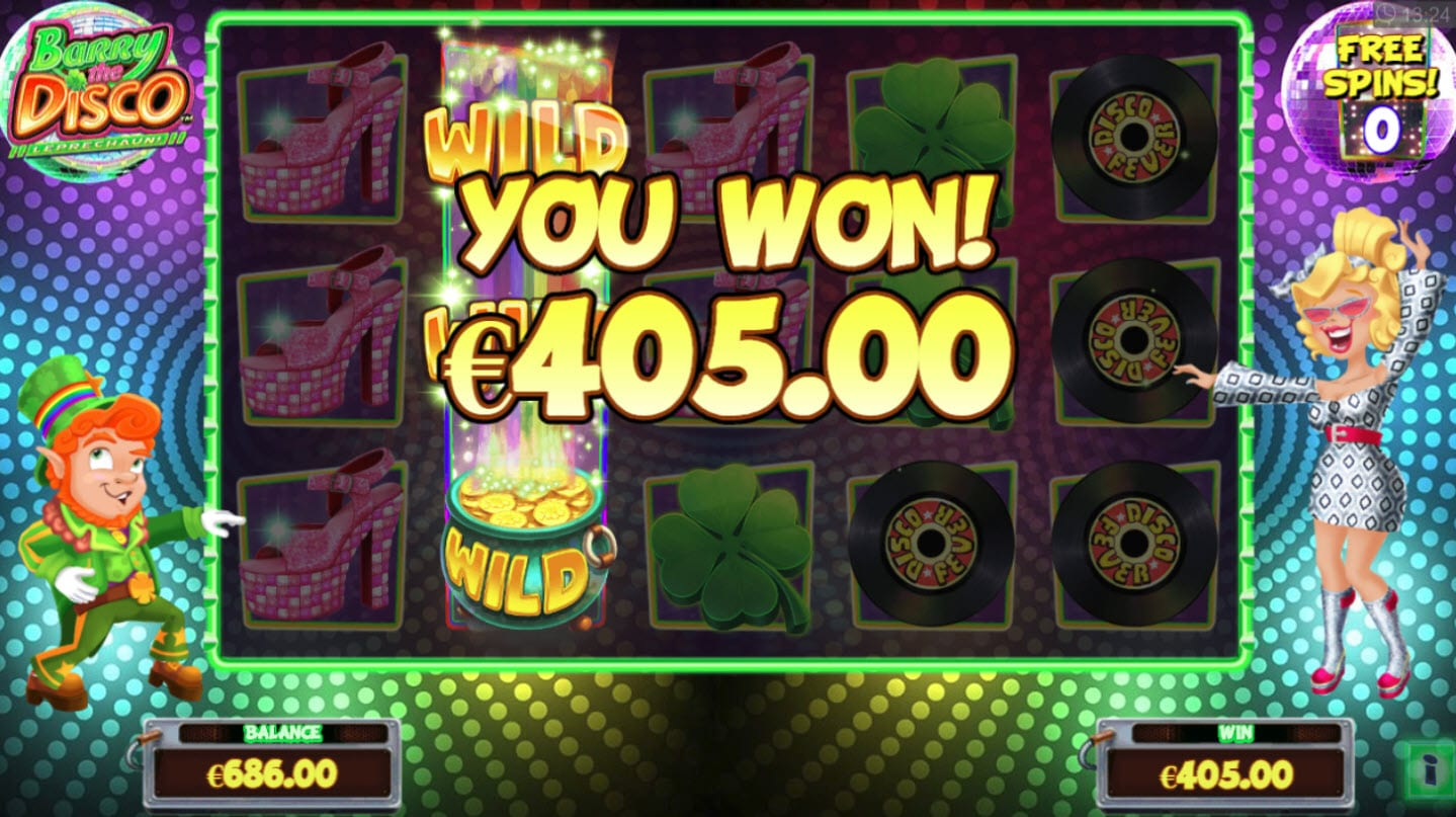 Barry the Disco Leprechaun Slots