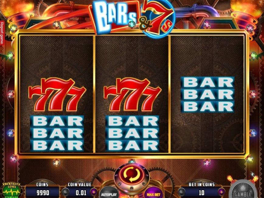 Bars & 7s Free Slots