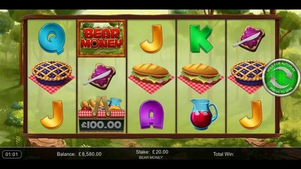 Bear Money Free Slots