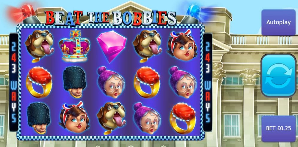 Beat The Bobbies Slots Online
