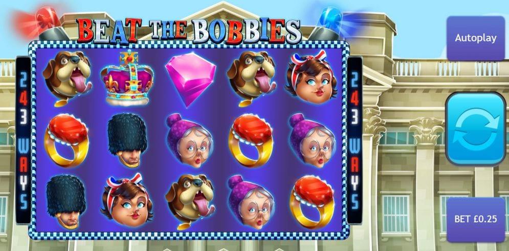 Beat the Bobbies Jackpot Slot