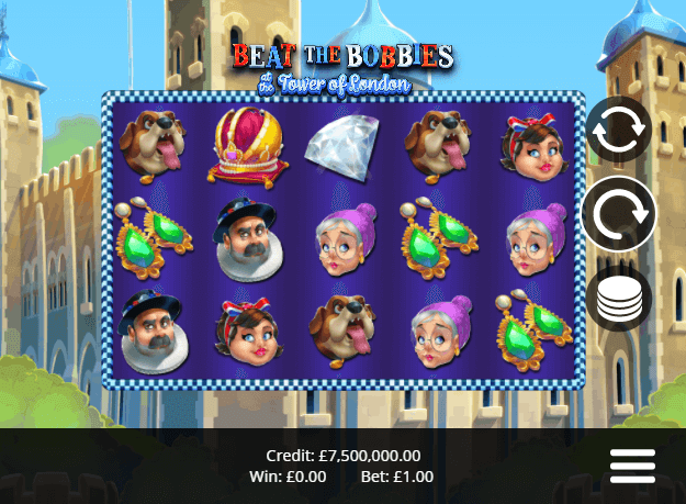 Beat the Bobbies at the Tower of London Slot Game