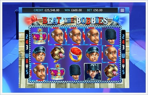 Beat the Bobbies Jackpot Gameplay 2