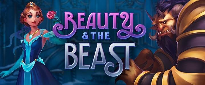 Beauty and the Beast online slots game logo