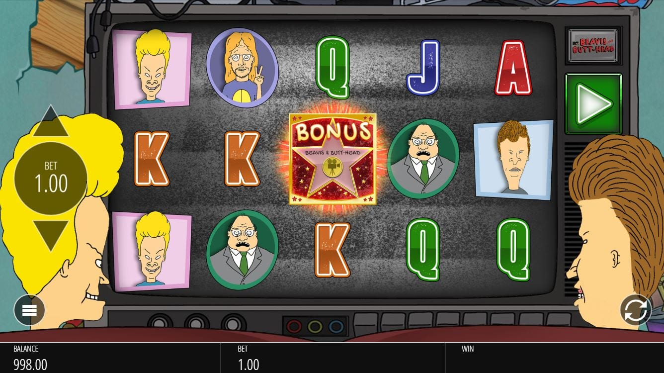 Beavis and Butthead Slots Game