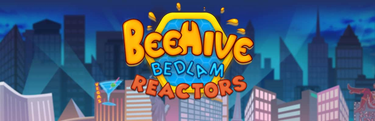 beehive bedlam slots game logo
