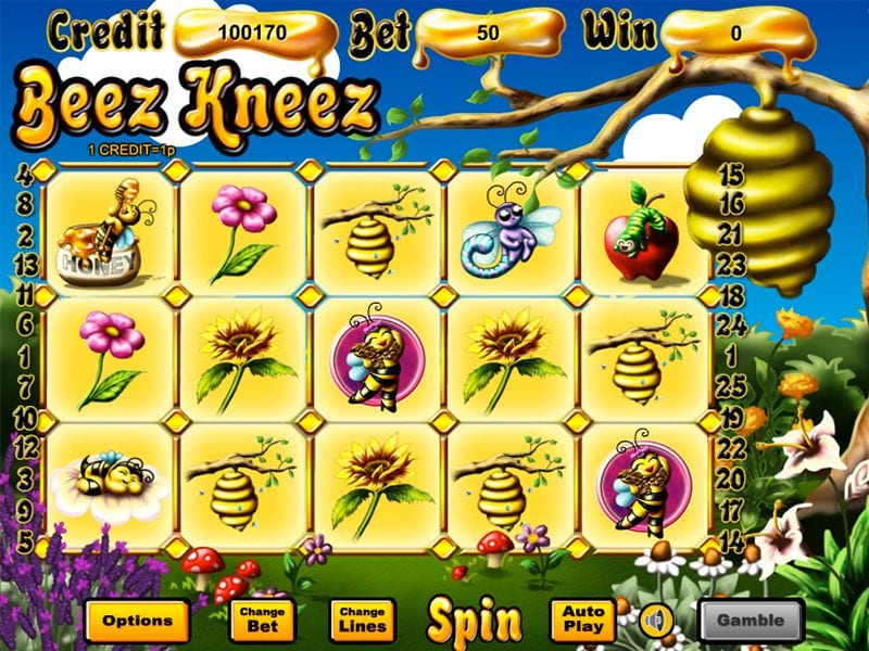 Bees Kneez game reels