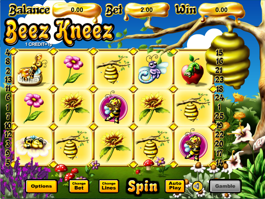 Beez Kneez Slots Game