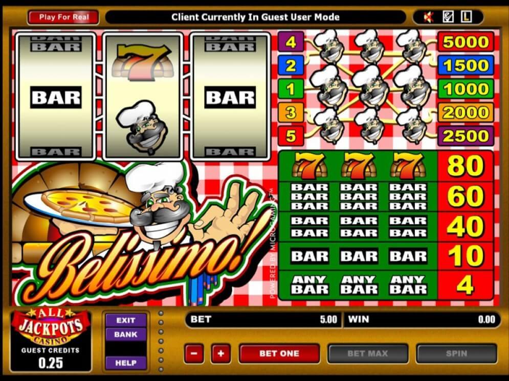 Belissimo! Slots Online