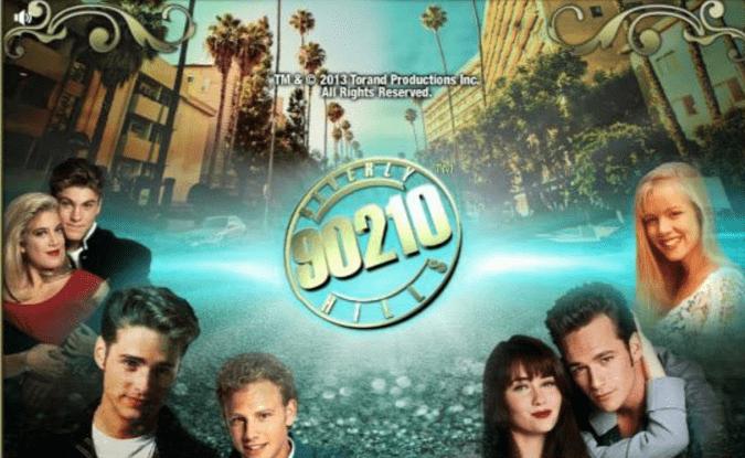 Beverly Hills 90210 slots game logo