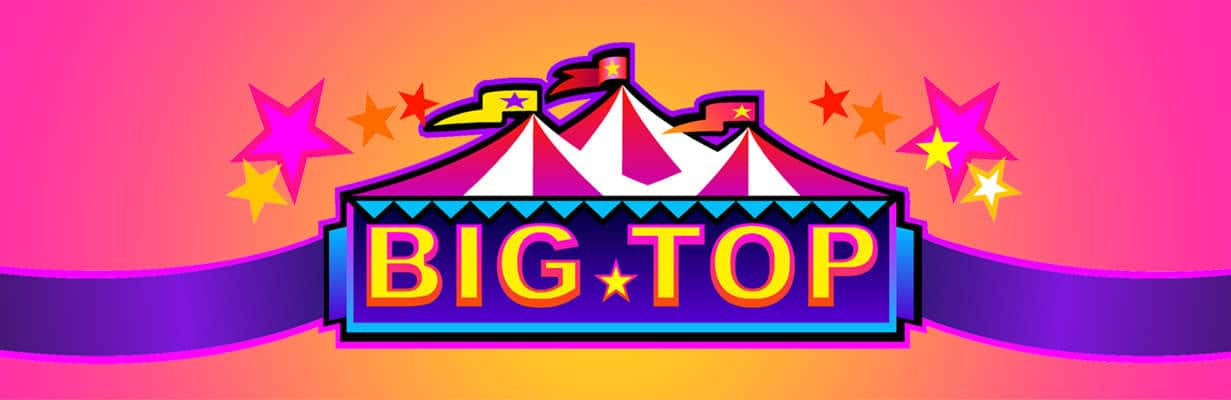 Big Top slots game logo