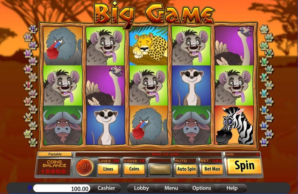 Big Game Free Slots
