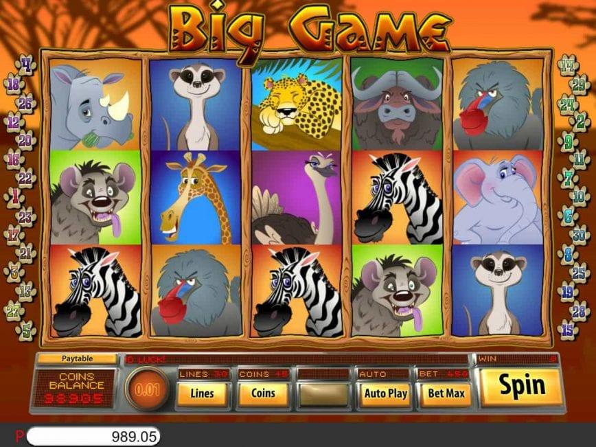 Big Game Slot Game