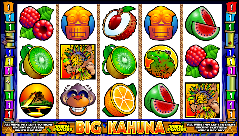 Big Kahuna slots game