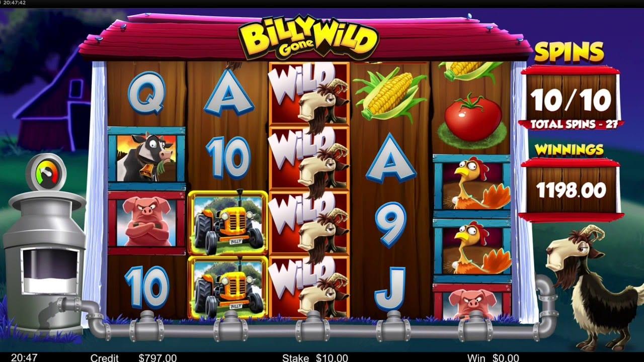 Billy Gone Wild Free Slots