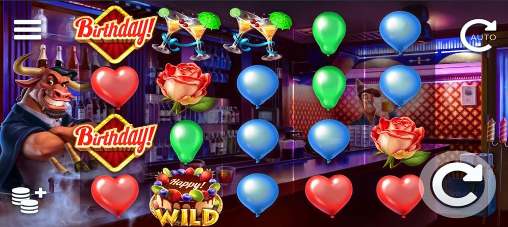 Birthday Slots Game