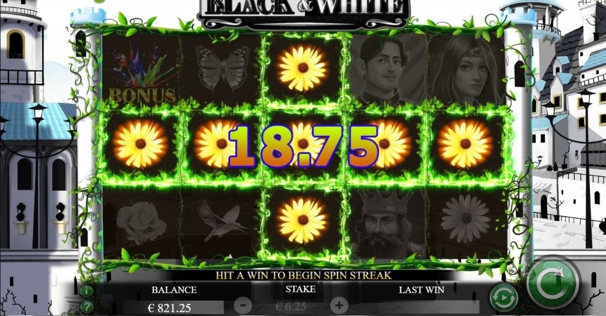 Black and White Slots Game