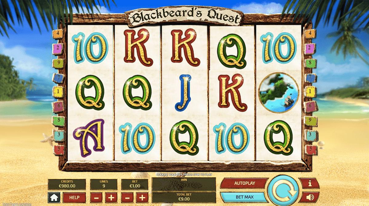blackbeard's quest gameplay