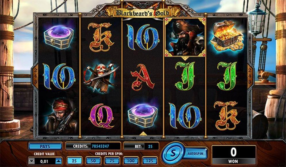 Blackbeard casino gameplay