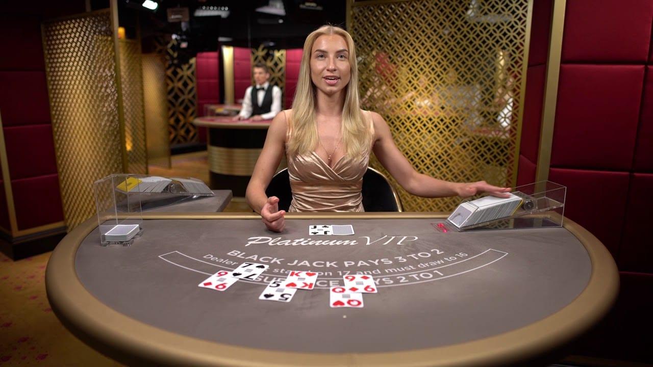 Platinum Blackjack Live Casino Game
