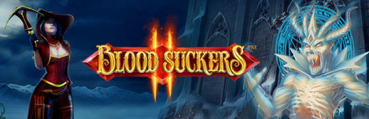 Blood Suckers II online slots game logo