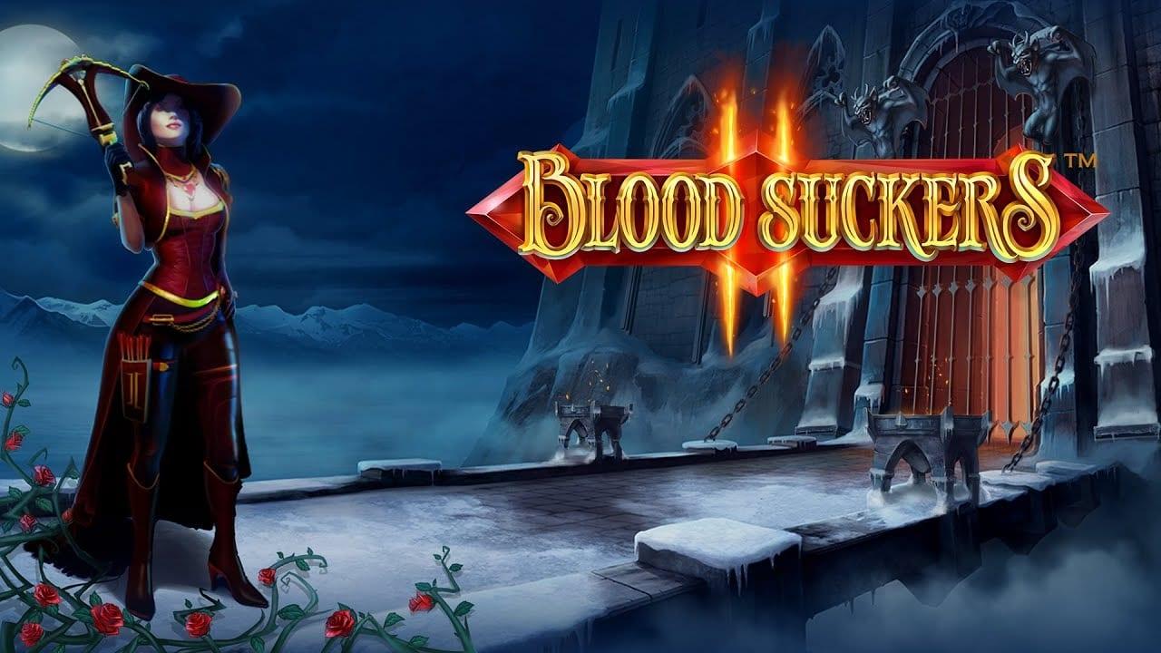 Blood Suckers II online slots game logo