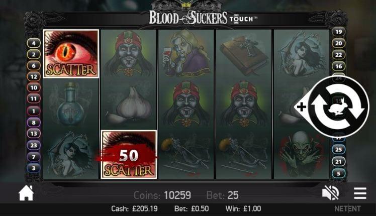 Blood Suckers Scatters