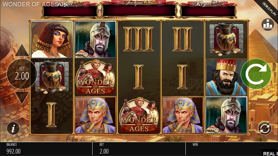 Wonder of Ages Slot Game