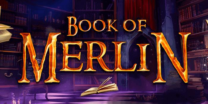 Book of Merlin Slot Logo Wizard Slots