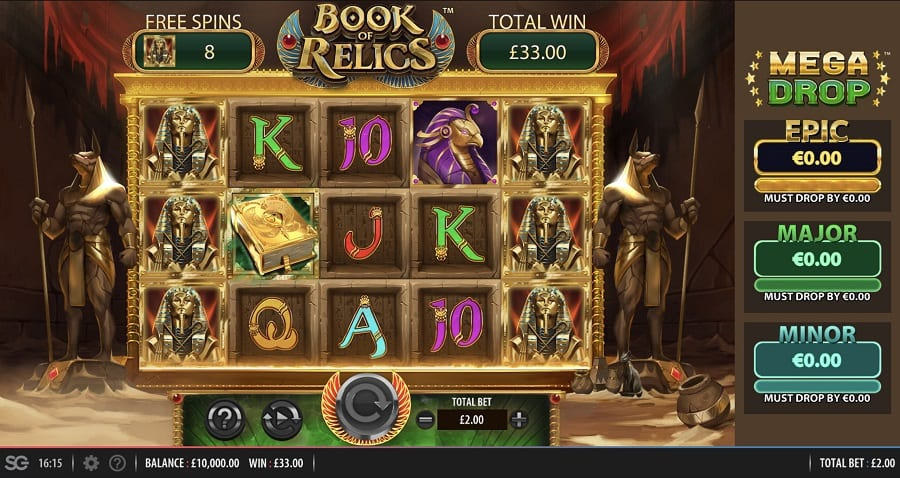 Book of Relics Slot Game
