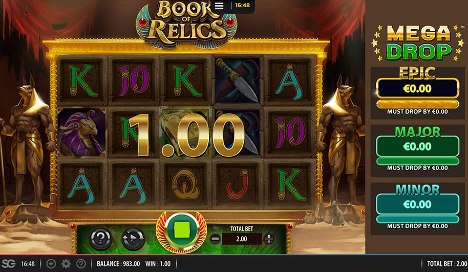 Book of Relics Free Slots
