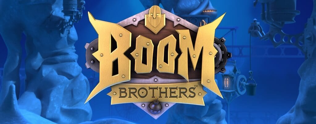 Boom brothers slots game logo