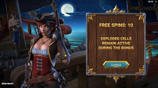 Boom Pirates Free Spins Slots