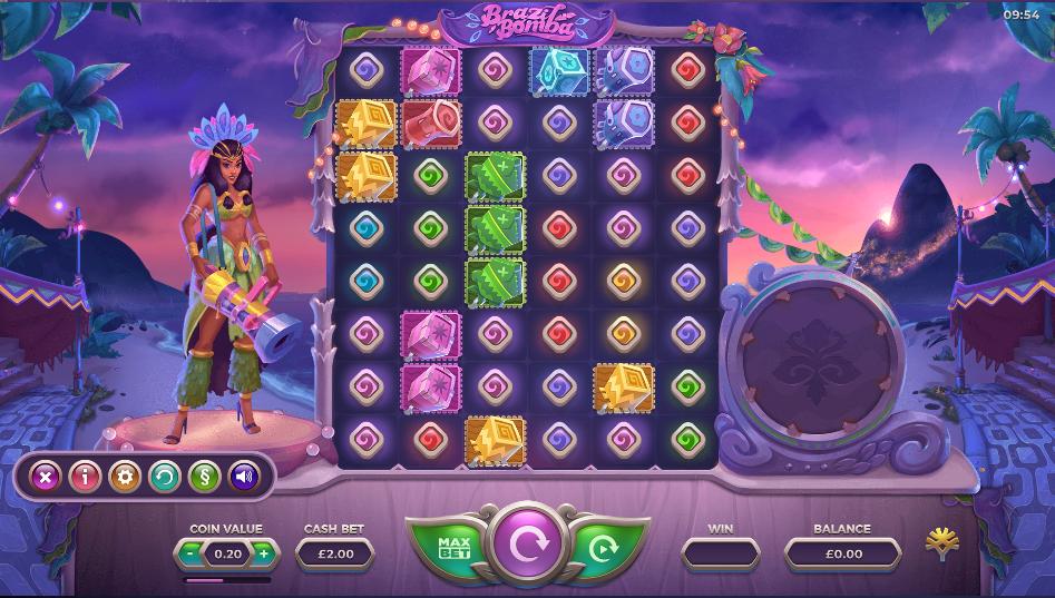 Brazil Bomba Slot Game