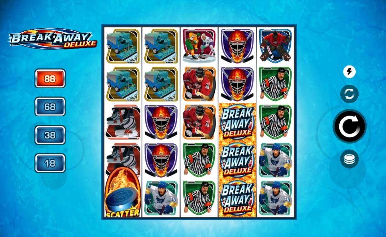 Break Away Deluxe Casino Gameplay