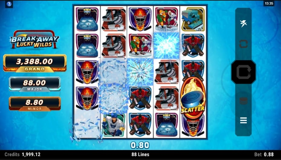 Break Away Lucky Wilds Slot Game
