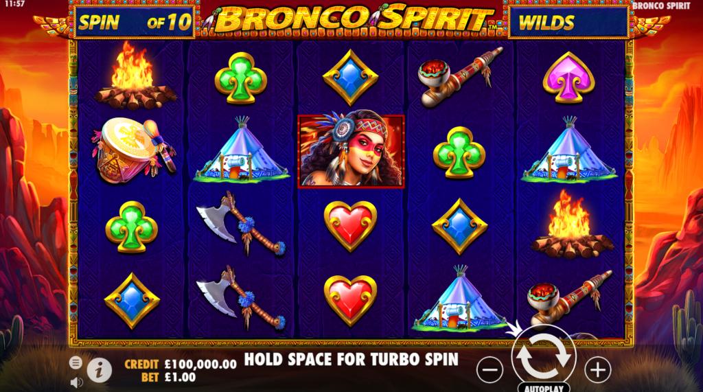Bronco Spirit Free Slots