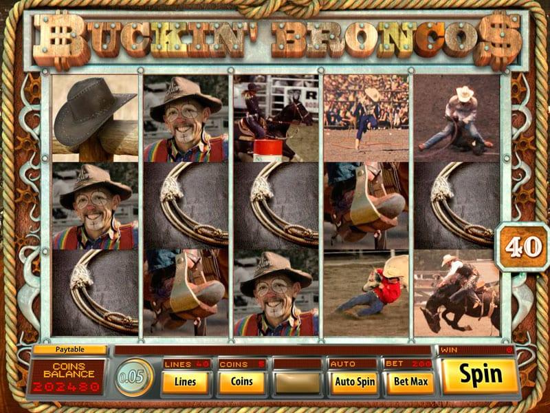 Buckin' Broncos Slot Game