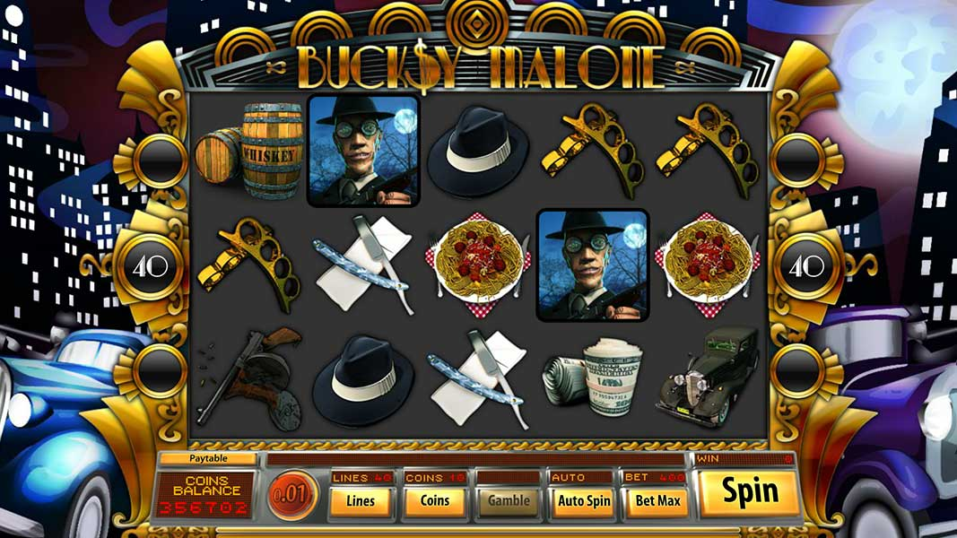 Bucksy Malone Slot Game