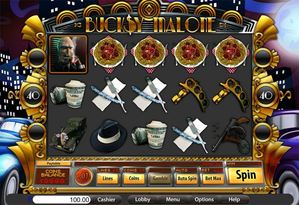 Bucksy Malone Free Slots