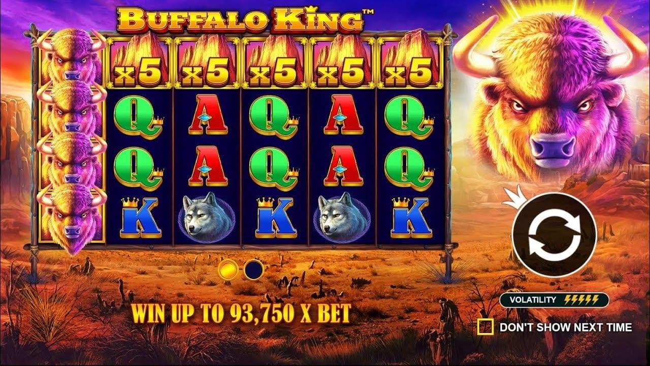 Buffalo King Slots UK Game