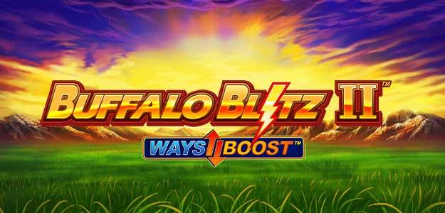 Buffalo Blitz 2 Slot Logo Wizard Slots