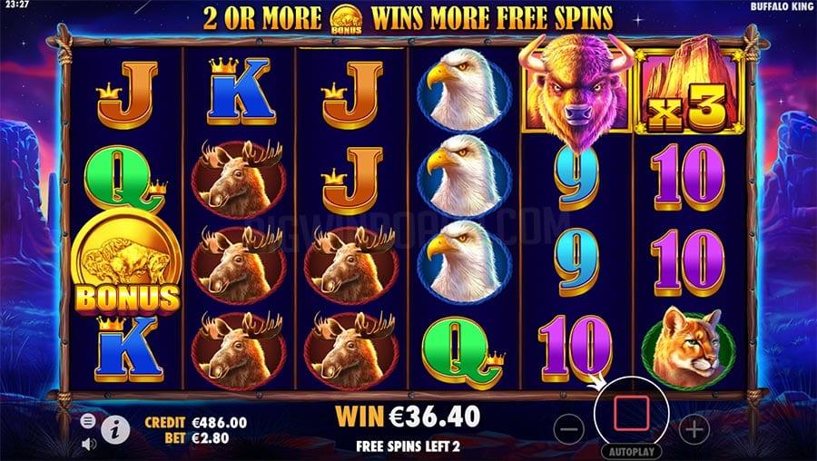 Buffalo King Slots Online