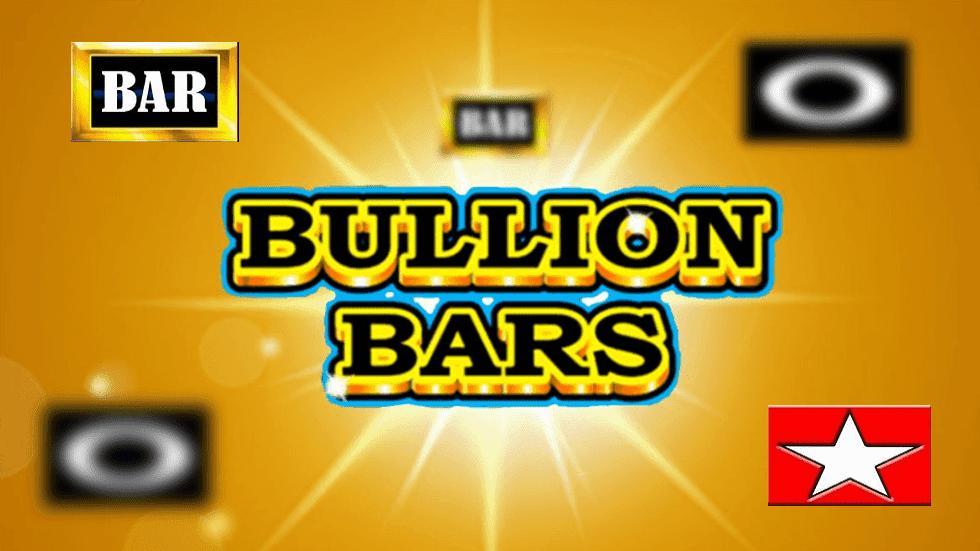 Bullion Bars Slot Logo Wizard Slots