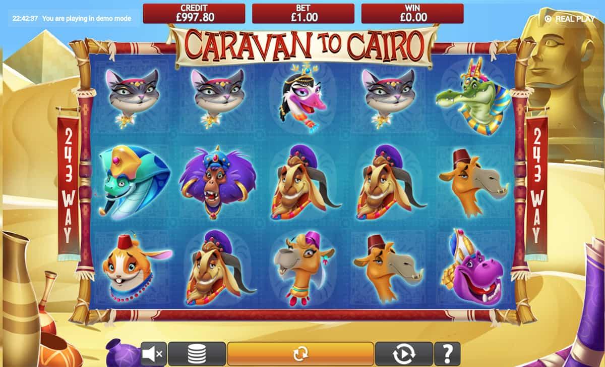 Caravan to Cairo Jackpot Slots Online