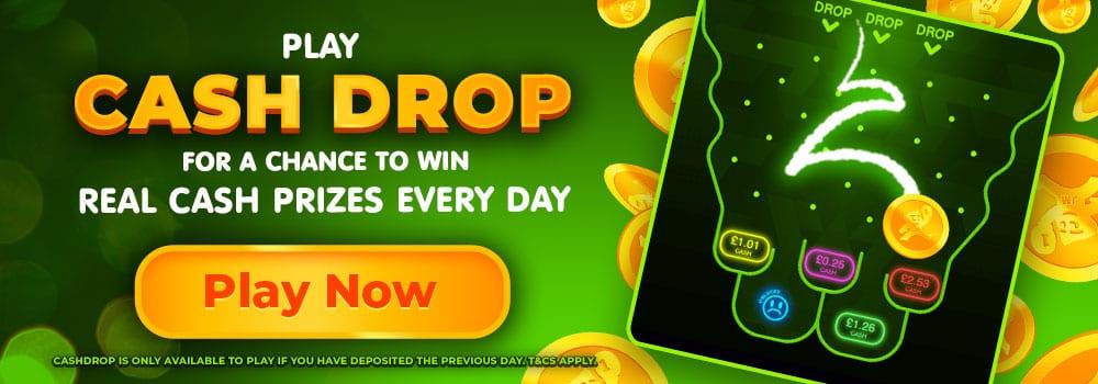 Wizard Slots Cash Drop Promotion