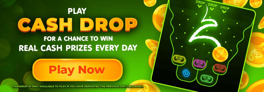 CashDrop Promo WizardSlots